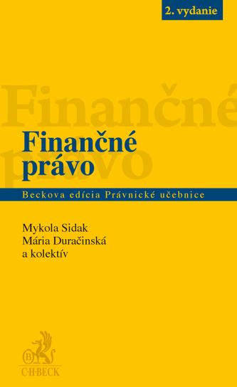 Finančné právo, 2. vydanie
