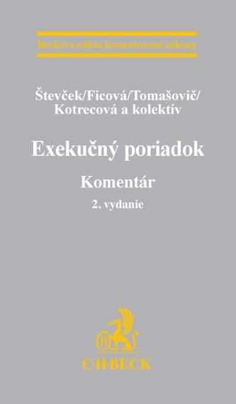 Exekučný poriadok. 2. vydanie. Komentár
