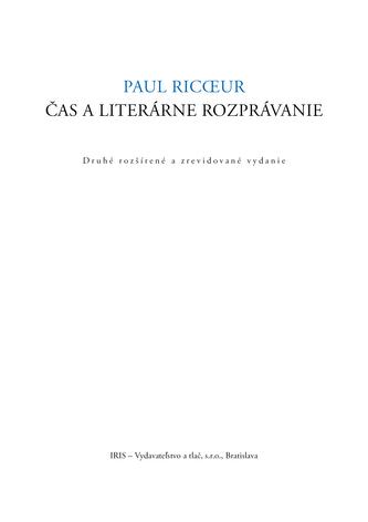 Čas a literárne rozprávanie