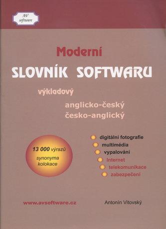 Moderní slovník softwaru anglicko-český a česko anglický