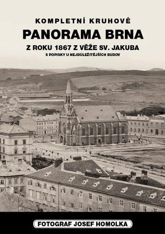 Panorama Brna z roku 1867 z věže sv.Jakuba