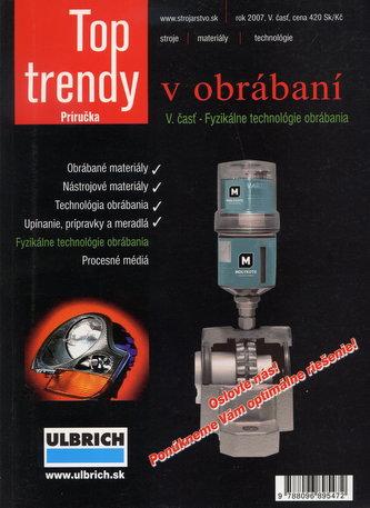 Top trendy v obrábaní V. časť - fyzikálne technológie obrábania