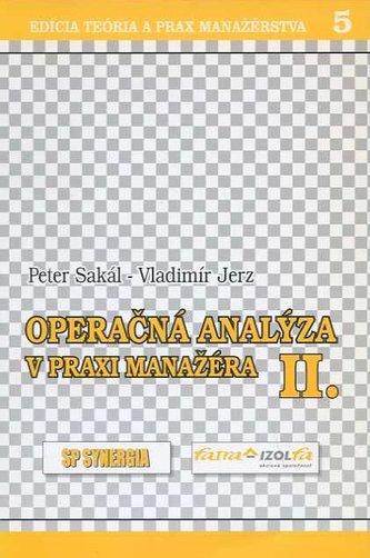 Operačná analýza v praxi manažéra II