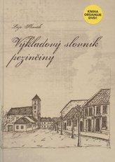 Výkladový slovník pezinčiny