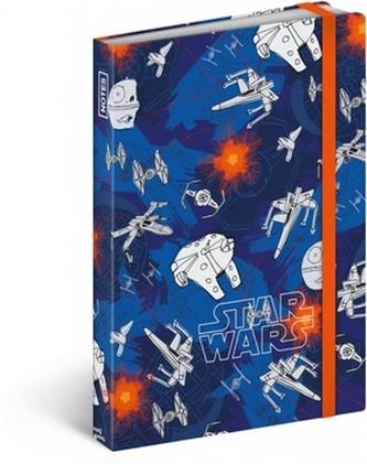 Notes Star Wars Mini, 9 x 13 cm