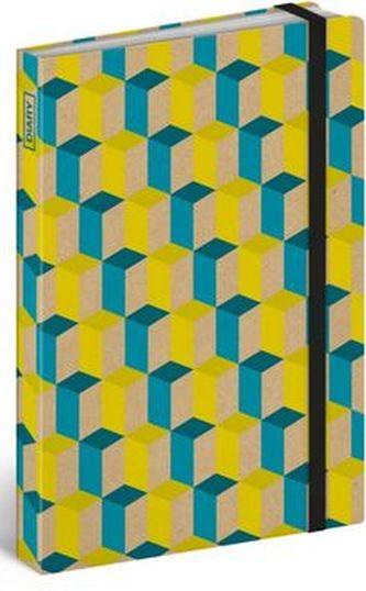 Diář 2016 - Cubes,  13 x 21 cm