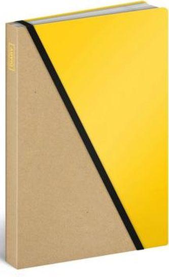 Diář 2016 - Divided Yellow,  13 x 21 cm