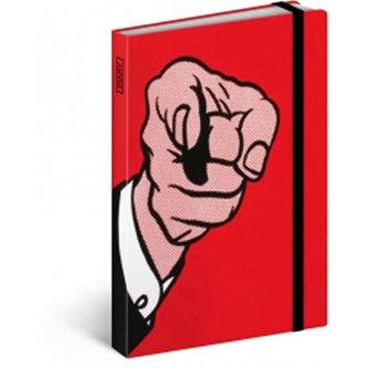 Diář 2016 - Roy Lichtenstein,  10,5 x 15,8 cm