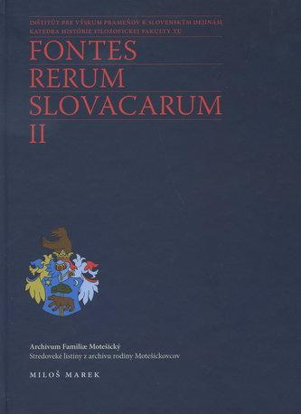 Fontes renum slovacarum II