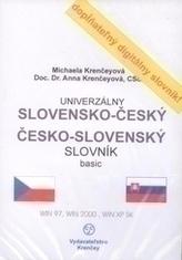 CD-ROM univerzálny slovensko-český česko-slovenský slovník pre prekladatelov