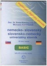 CD-ROM Univerzálny slovensko-anglický anglicko-slovenský slovník BASIC