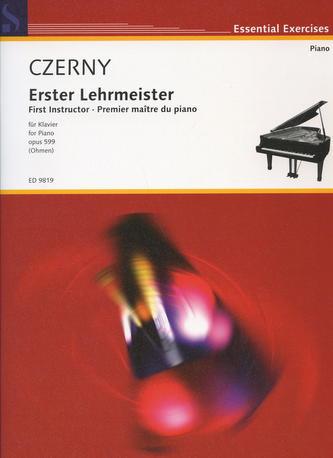 Czerny - Erster Lehrmeister/First Instructor