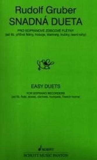 Snadná dueta pro zobcové flétny - David Gruber