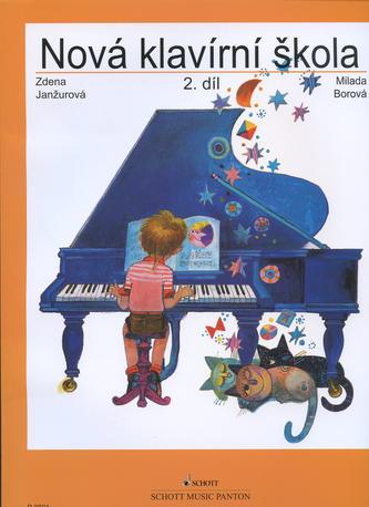 Nová klavírní škola 2. díl - Milada Borová