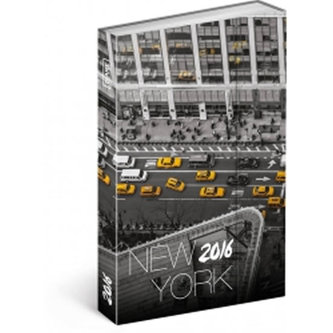 Diář 2016 - New York - Jakub Kasl,  10,5 x 15,8 cm