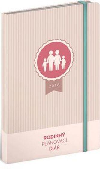 Rodinný plánovací magnetický diář 2016