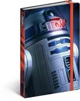 Notes Star Wars Blue, 10,5 x 15,8 cm