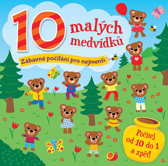 10 malých medvídků - Zábavné počítání pro nejmenší - neuveden