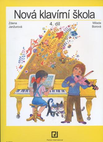 Nová klavírní škola 4. diel