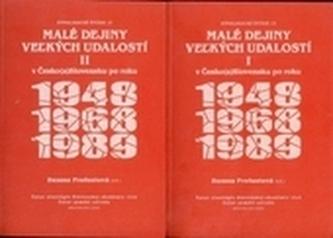 Malé dejiny veľkých udalostí v Česko(a)Slovensku po roku 1948, 1968, 1989 1+2