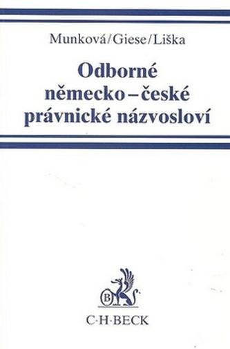 Odborné německo-české právnické názvosloví