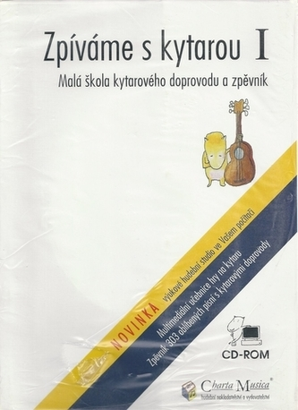 Zpíváme s kytarou 1+CD ROM fialová multimedialni škola hry na kytaru - Kolektiv Autorů