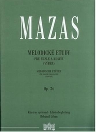 Melodické etudy pre husle a klavír