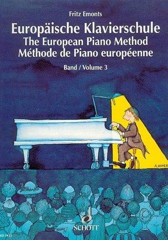 Evropská klavirní škola 3. - Emonts, Fritz