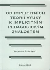 Od implicitních teorií výuky k implicitním pedagogickým znalostem