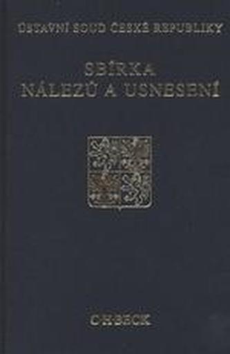 Sbírka nálezů a usnesení ÚS ČR, svazek 23