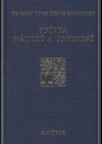 Sbírka nálezů a usnesení ÚS ČR, svazek  35