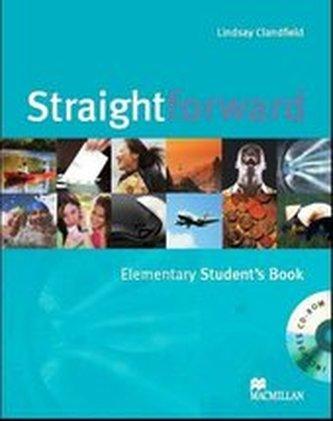 Straightforward (A1-C1) Elem Student´s Book +CD-Rom
