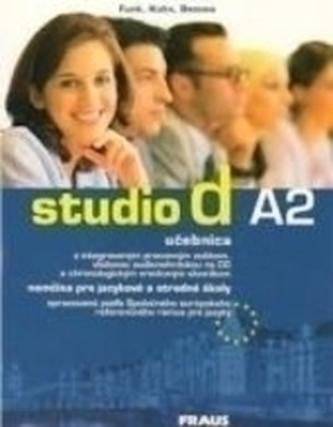 studio d A2 UČ + CD /slovenská verzia/