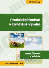 Produkční funkce v živočišné výrobě