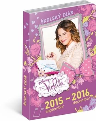 Violetta školský diár 2015-2016
