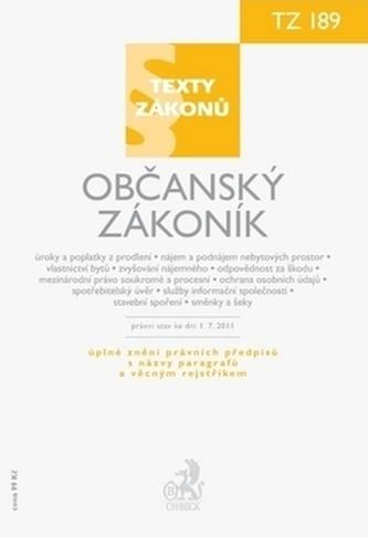 Občanský zákoník, právní stav ke dni 1.7. 2011