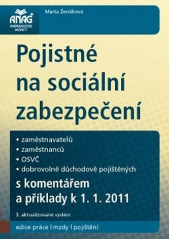 Pojistné na sociální zabezpečení k 1. 1. 2011