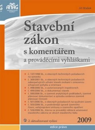 Stavební zákon s komentářem 2009