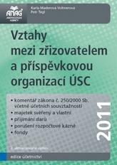 Vztahy mezi zřizovatelem a příspěvkovou organizací ÚSC 2011