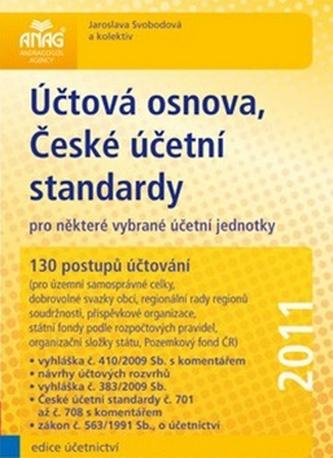 Účtová osnova, České účetní standardy pro některé vybrané účetní jednotky