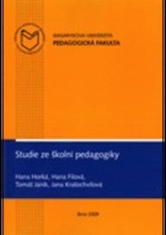Studie ze školní pedagogiky