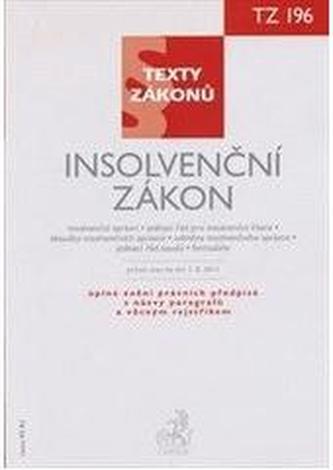 Insolvenční zákon, právní stav ke dni 1.8. 2011