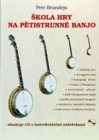 Škola hry na pětistrunné banjo + CD