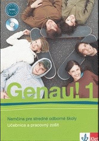 Genau! 1 SK – učebnica s pracovným zošitom + 2CD