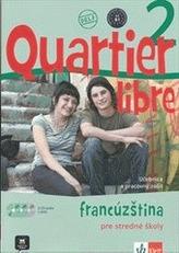 Quartier Libre 2 SK – učebnica s prac. zoš. + CD + DVD