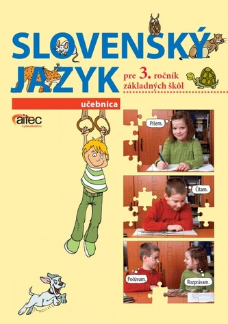 Slovenský jazyk pre 3. ročník ZŠ – učebnica