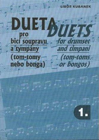 Dueta pro bicí soupravu a tympány I. - Kubánek, Libor