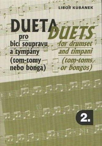 Dueta pro bicí soupravu a tympány II. - Kubánek, Libor