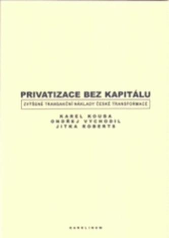 Privatizace bez kapitálu.  Zvýšené transakční náklady české