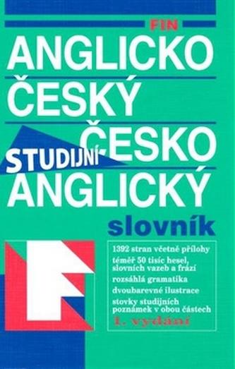FIN Anglico český česko anglický slovník Studijní